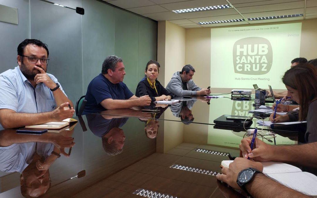 Reunión de Actores del Ecosistema de Santa Cruz