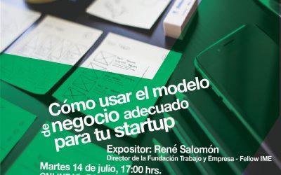 Como usar el modelo de negocio adecuado para tu startup